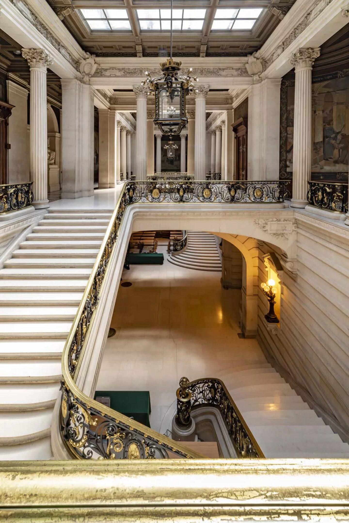 Escaliers La Sorbonne