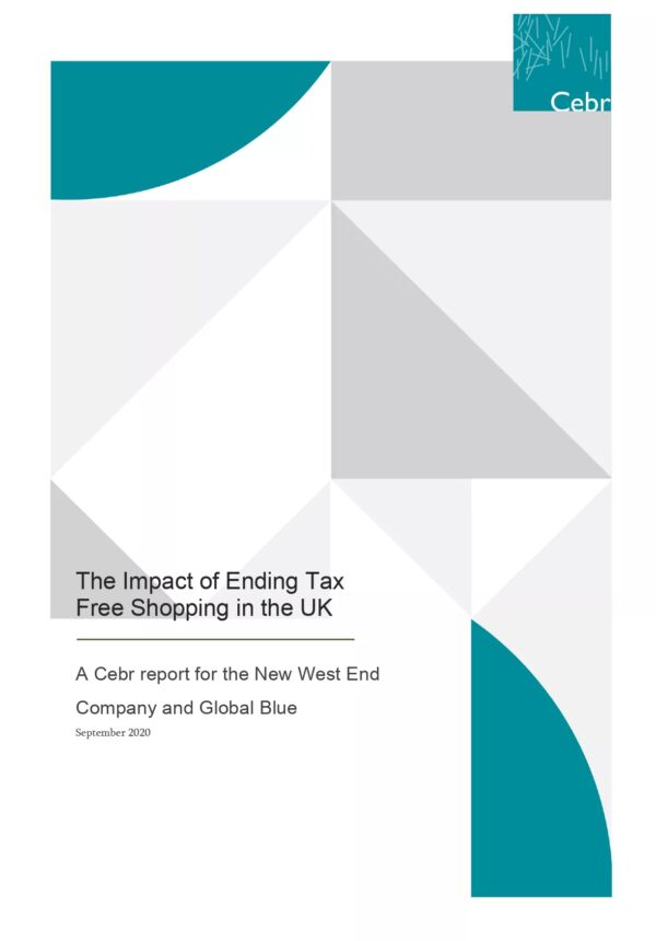 études final report on impact of ending of tax free shopping