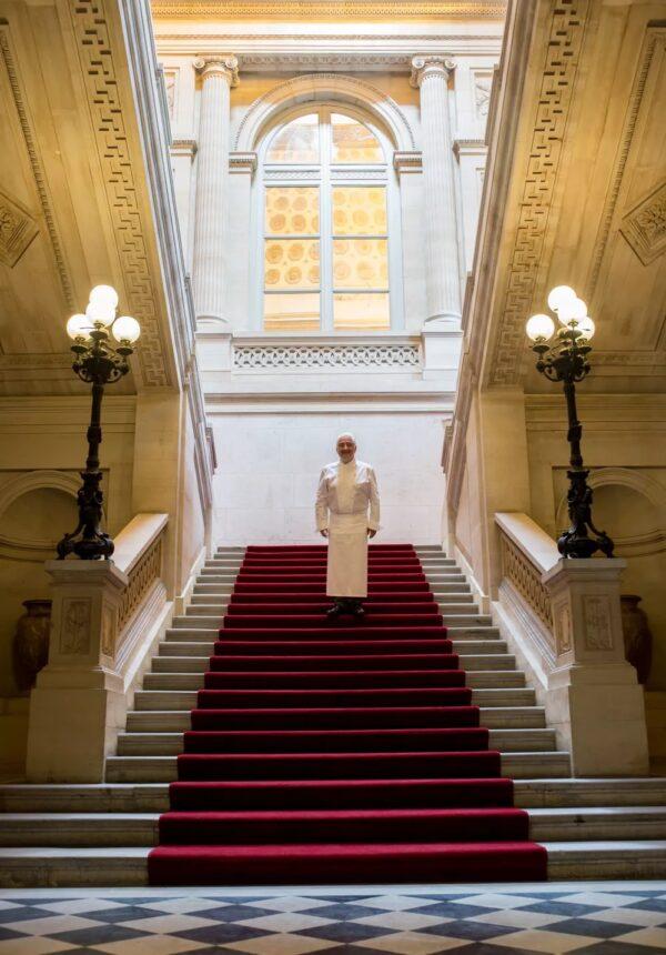 Grand escalier d'honneur Guy Savoy