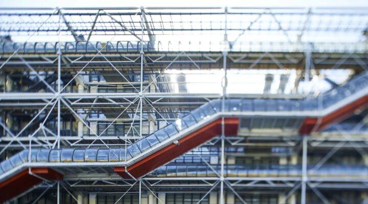 Vue extérieur Centre Pompidou