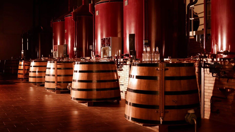 Tonneaux de vin Martell