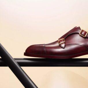 Chaussure en cuir Johnn Lobb