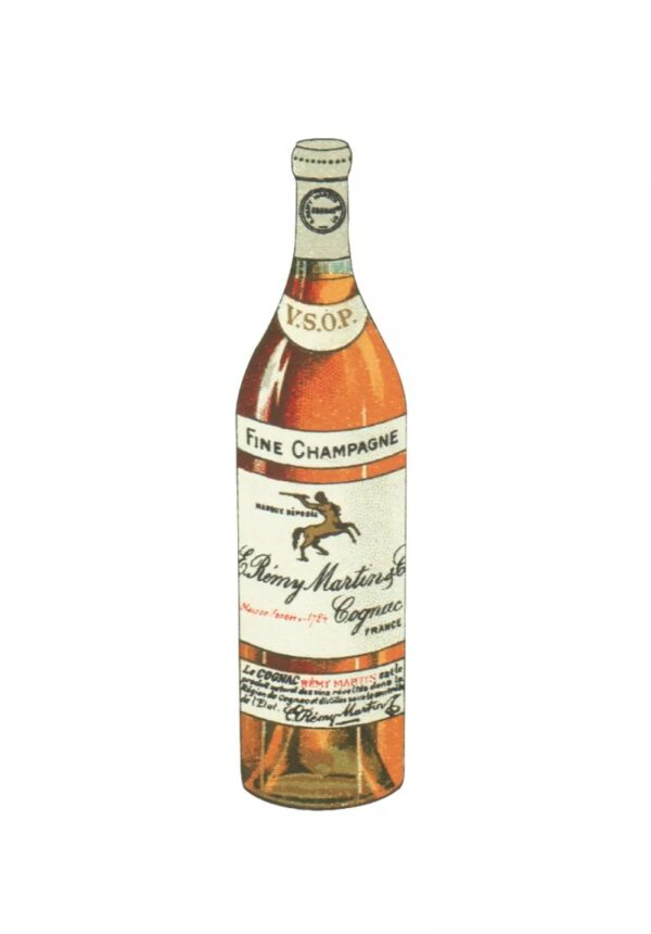 Bouteille de champagne Remy Martin
