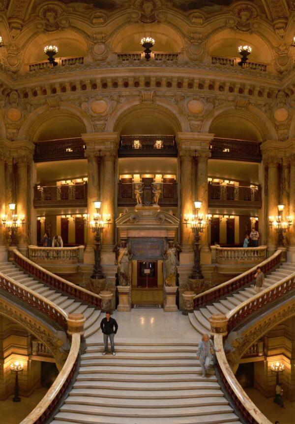 Escaliers Opéra National de Paris