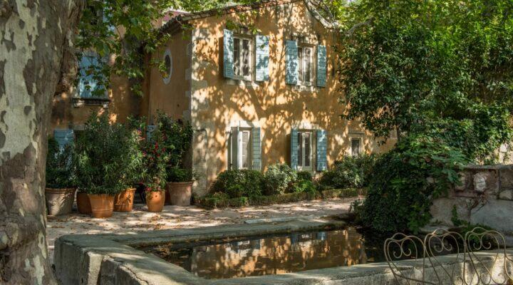 Vue extérieure Baumanière Les Baux de Provence