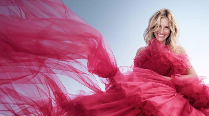 Lancôme robe rose