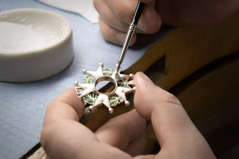 Décoration sur bijoux La Monnaie de Paris