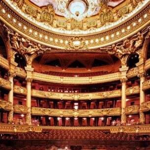 Vue Intérieur de l'Opéra de Paris