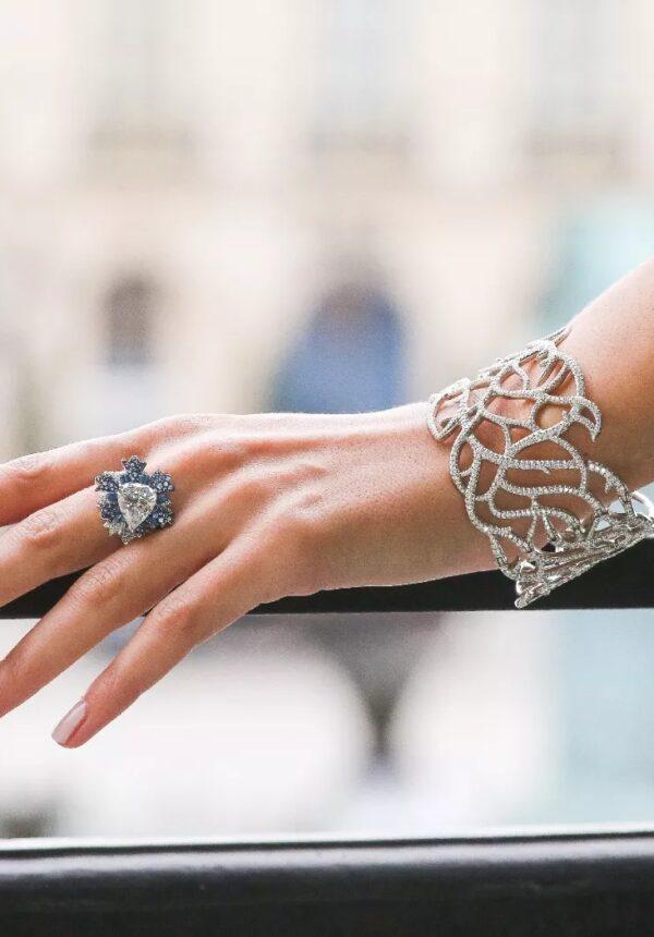 Bague et bracelet Lorenz Bäumer