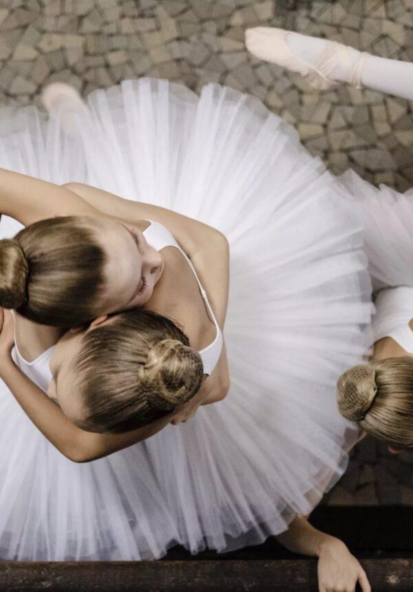 Danseuses en tutu blanc
